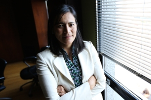 Michele Audette, new president of the Native Women Association of Canada. Photo by David P. Ball