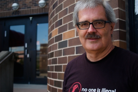 "Gary Kinsman, co-author of The Canadian War on Queers and a professor at Laurentian University in Sudbury, compared G20 mass arrests with the 1981 ""Operation Soap"" bathhouse raids. Photo by David P. Ball"