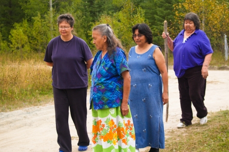 The logging road blockade near Grassy Narrows First Nation marked its tenth anniversary in December. Photo by David P. Ball