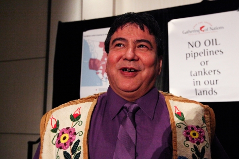 Lyle Campbell-Letendre, president of BC's largest Métis settlement. Photo by David P. Ball