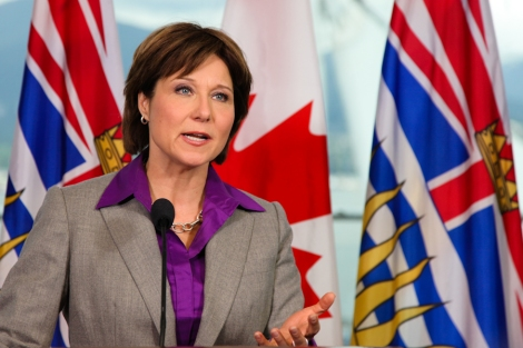 Premier-elect Christy Clark. Photo by David P. Ball