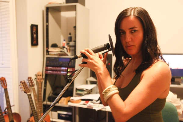 Kinnie Starr in her Toronto studio. Photo by David P. Ball
