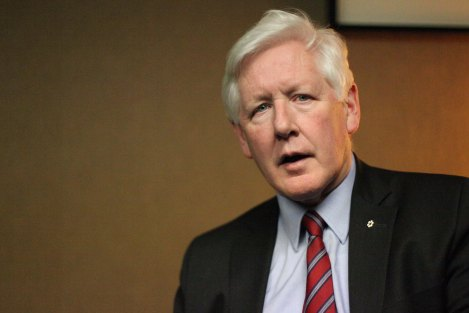 Bob Rae. Photo by David P. Ball