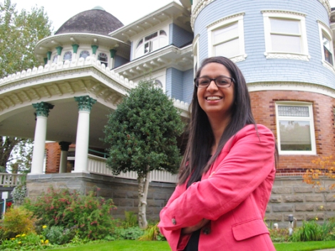 Canuck Place Children's Hospice volunteer Salina Dharamsi is in our Top 24 Under 24. Photo by David P. Ball