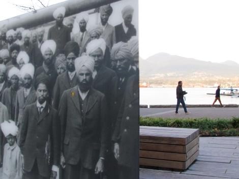 Vancouver's Komagata Maru commemorative monument. Photo by David P. Ball