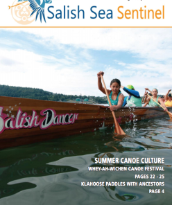 Salish Sea Sentinel (cover)
